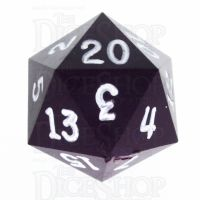 GameScience Opaque Purple & White Ink D20 Dice