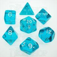 D&G Gem Aqua 7 Dice Polyset