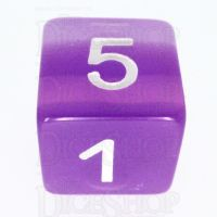 TDSO Layer Transparent Purple D6 Dice