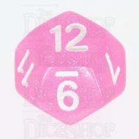 TDSO Galaxy Glitter Princess Pink D12 Dice