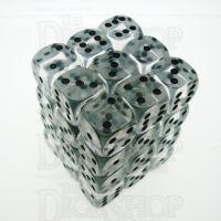 D&G Gem Clear 36 x D6 Dice Set