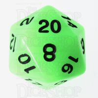 TDSO Glow in the Dark Ectoplasm D20 Dice LIMITED EDITION
