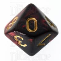 TDSO Duel Blood & Shadow D10 Dice