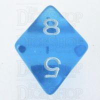 CLEARANCE D&G Gem Bright Blue D8 Dice