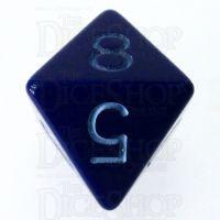 Role 4 Initiative Opaque Blue & Blue D8 Dice