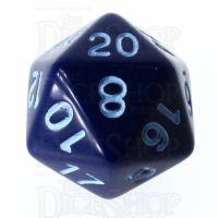 Role 4 Initiative Opaque Blue & Blue D20 Dice