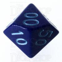 Role 4 Initiative Opaque Blue & Blue Percentile Dice