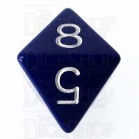 Role 4 Initiative Opaque Blue & White D8 Dice