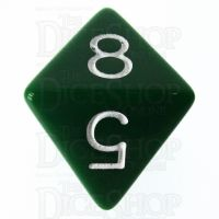 Role 4 Initiative Opaque Green & White D8 Dice