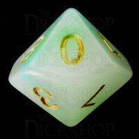 TDSO Opalescence Blue & Green D10 Dice