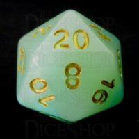 TDSO Opalescence Blue & Green D20 Dice