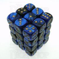 Chessex Gemini Black & Blue 36 x D6 Dice Set