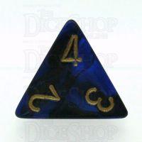Chessex Gemini Black & Blue D4 Dice