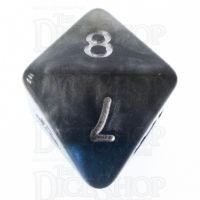 Halfsies Pearl The Heir Power Teal & Castle Stone D8 Dice
