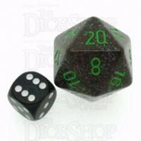Chessex Speckled Earth JUMBO 34mm D20 Dice
