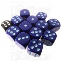 Role 4 Initiative Opaque Blue & Blue 12 x D6 18mm Dice Set