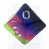 TDSO Layer Neon Sunrise D10 Dice