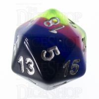 TDSO Layer Neon Sunrise D20 Dice