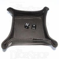 Chasm Leather Folding Dice Tray -  Dark Brown
