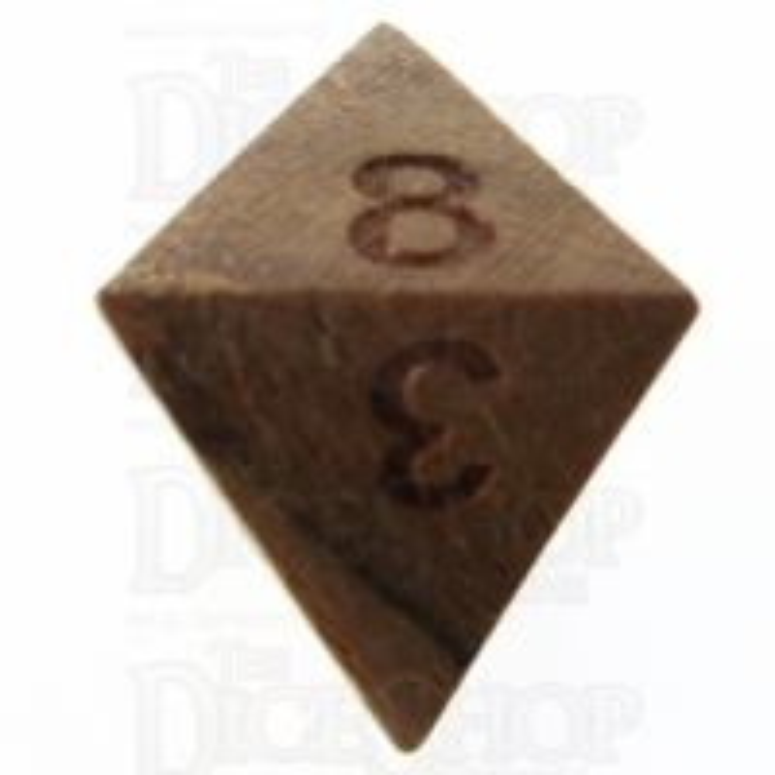 TDSO Teak Wooden D8 Dice