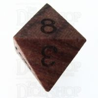 TDSO Rosewood Wooden D8 Dice