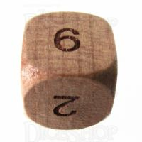TDSO Cherry Wooden D6 Dice