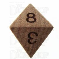 TDSO Cherry Wooden D8 Dice