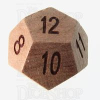 TDSO Cherry Wooden D12 Dice