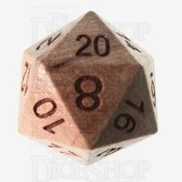 TDSO Cherry Wooden D20 Dice