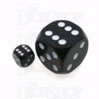 D&G Opaque Black MASSIVE 36mm D6 Spot Dice