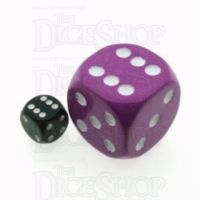 D&G Opaque Purple MASSIVE 36mm D6 Spot Dice