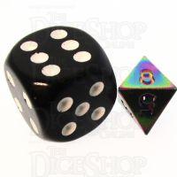 TDSO Metal Iridescent Rainbow MINI 10mm D8 Dice
