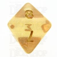TDSO Iridescent Glitter Orange D8 Dice