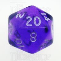 D&G Gem Purple D20 Dice