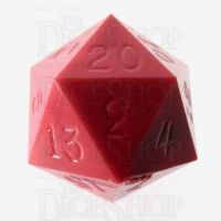 GameScience Opaque Strawberry Red D20 Dice