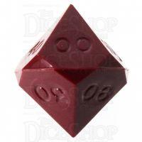GameScience Opaque Garnet Red Percentile Dice