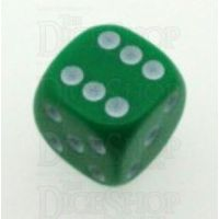D&G Opaque Green 16mm D6 Spot Dice