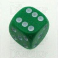 D&G Opaque Green 16mm D6 Spot Dice
