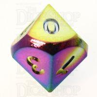 TDSO Metal Iridescent Rainbow D10 Dice