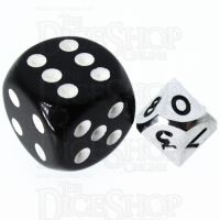 TDSO Metal Polished Silver MINI 10mm D10 Dice