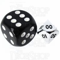 TDSO Metal Polished Silver MINI 10mm Percentile Dice