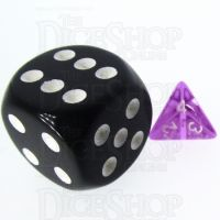 TDSO Bright Gem Amethyst MINI 10mm D4 Dice