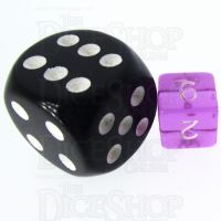 TDSO Bright Gem Amethyst MINI 10mm D6 Dice