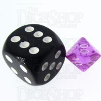 TDSO Bright Gem Amethyst MINI 10mm Percentile Dice