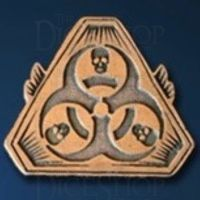 Post Apocalyptic Legendary Metal Copper Coin