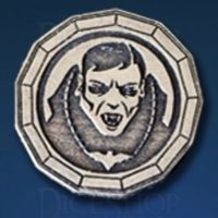 Vampire Legendary Metal Silver Coin