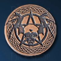 Vampire Legendary Metal Copper Coin