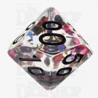 TDSO Confetti Rainbow & Black Percentile Dice