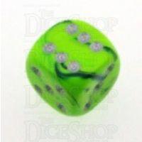 D&G Toxic Slime Green & Blue 15mm D6 Spot Dice