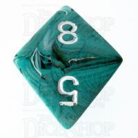 Chessex Marble Oxi-Copper D8 Dice